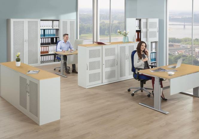Büroschränke- und Regale