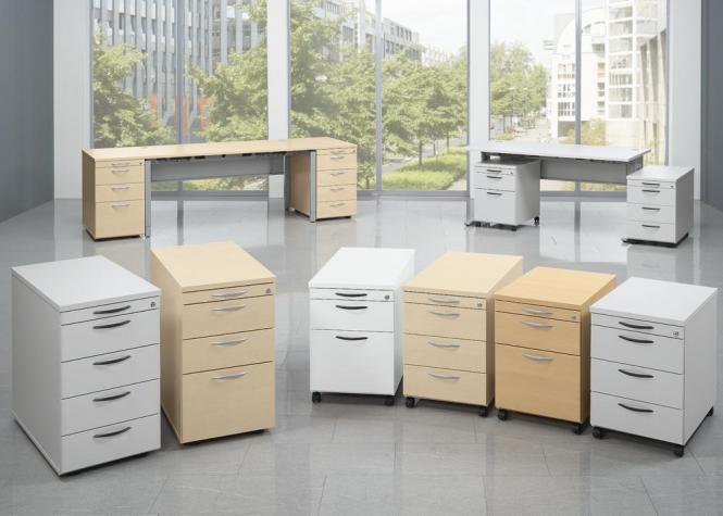 Bürocontainer-und Wagen