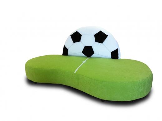 Kindersofa Fußball WM - B1/ schwer entflammbar