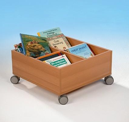 Bücher- und Spielrollkiste