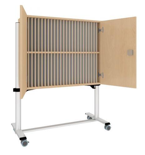 Klassenbuchwagen mit 2 abschließbaren Türen