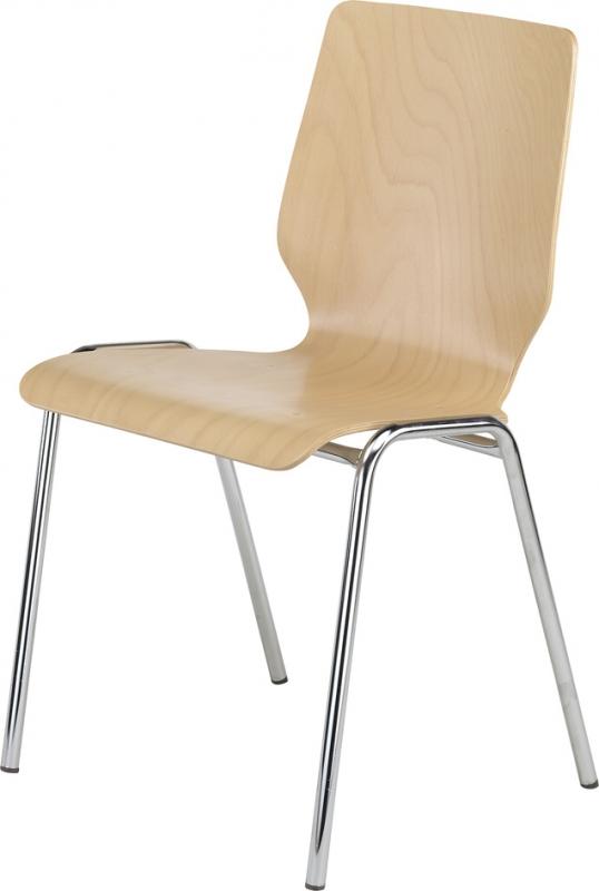 stapelstuhl ohne polster. Black Bedroom Furniture Sets. Home Design Ideas