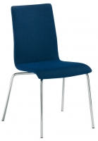 Stapelstuhl   Sitz- und Rückenlehne mit Vollpolster