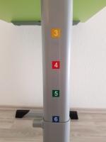 Schülertisch höhenverstellbar 52-70 / 58-82 cm