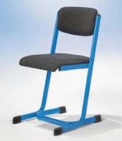 Lehrerstuhl C-Fuß mit U-Form
