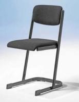 Lehrerstuhl 2 C-Fuß mit U-Form