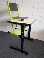 höhenverstellbarer Schülerstuhl 30-42 cm / 38-50 cm