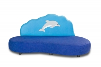 Kindersofa Flipper der Delphin