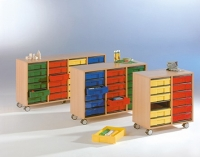 Eigentumsschrank - 24 flache InBoxen