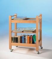 Bücherwagen/ Servierwagen