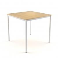 Tisch 80x80 cm - 25 mm Platte
