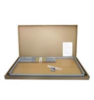 Tisch 80x80 cm - 16 mm Platte