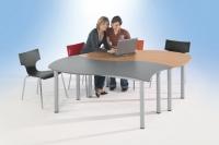 Tafelrunde Quadrat bestehend aus 2 Tischen