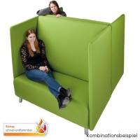 Schallschutz Sofa B1- 2er Set, schwer entflammbar