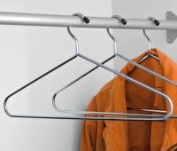Kleiderbügel verchromt - 5er Set