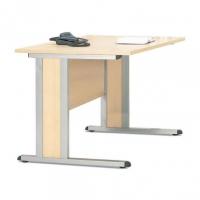 Schreibtisch- Rechteckform/ Freiform