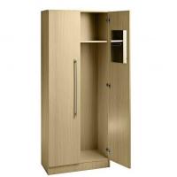 Garderobenschrank - 1 Fachboden, ohne Schloss