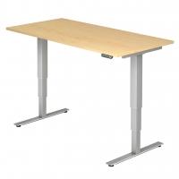 Schreibtisch- höhenverstellbar Rechteckform