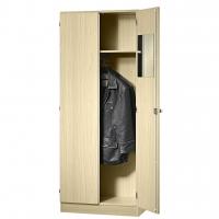 Garderobenschrank - 1 Fachboden, abschließbar