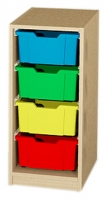 Materialcontainer als Unterschrank