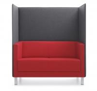 2-Sitzer Sofa mit Trennwand
