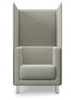 Sessel mit Trennwand
