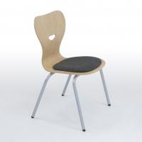 Mehrzweckstuhl mit Sitzpolster