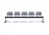 Sitzbank für 5 Personen, Kunststoff