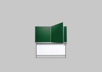 Buchschiebetafel mit Unterbau-Gegengewicht