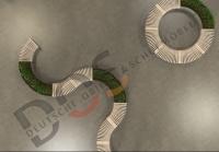Design- Banksystem/ Sitzgruppe 10-teilig