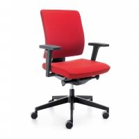 Bürostuhl mit niedriger Rückenlehne
