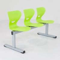 Sitzbank - Kunststoffschale/ 3-Sitzer