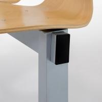 Sitzbank - Holzschale/ 2-Sitzer