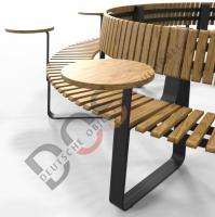Tisch rund Creative Line IU Serie