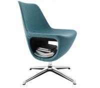 Design- Sessel/ B1 schwer entflammbar