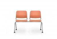 Sitzbank Kunststoff/ 2-Sitzer