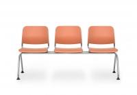 Sitzbank Kunststoff/ 3-Sitzer