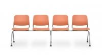 Sitzbank Kunststoff/ 4-Sitzer