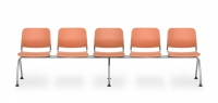 Sitzbank Kunststoff/ 5-Sitzer