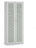 Akustik-Flügeltürenschrank/ Breite 80 cm/ 5 Ordnerhöhen