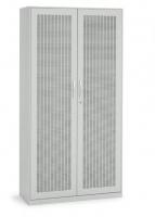 Akustik-Flügeltürenschrank/ Breite 100 cm/ 5 Ordnerhöhen
