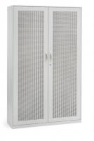 Akustik-Flügeltürenschrank/ Breite 120 cm/ 5 Ordnerhöhen