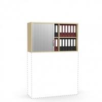 Rollladen-Aufsatzschrank/ 1200 mm x 710 mm (2 OH)