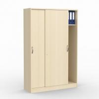 Schiebetürenschrank/ Garderobe/ B 1200 mm x H 1835 mm (5 OH)