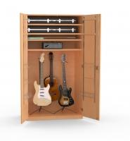 Musikinstrumentenschrank
