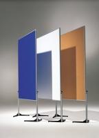 Ausstellungswand weiß, kartoniert - 120 cm x 150 cm