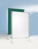 Stecktafel mit Stahloberfläche in weiß oder grün