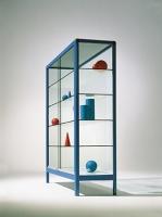 Ausstellungsvitrine mit 4 Glasböden