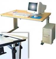 Arbeitstisch, Modell CADDY   BxHxT 80 x 68-76 x 80 cm
